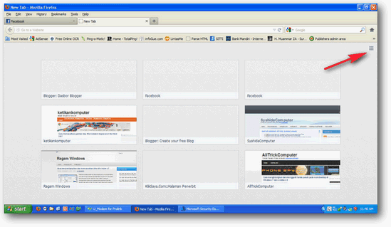 hide New tab page firefox