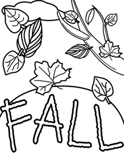 Fall Harvest Coloring Pages Printable Free