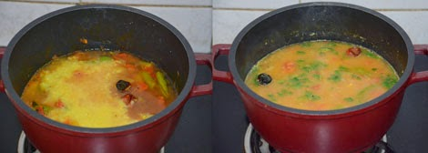 How to make pasi paruppu sambar