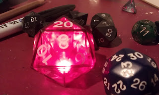 d20 with all 1s