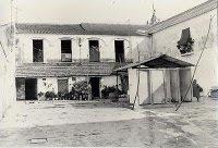 Patio de la hacienda La Mina Grande (circa 1975)