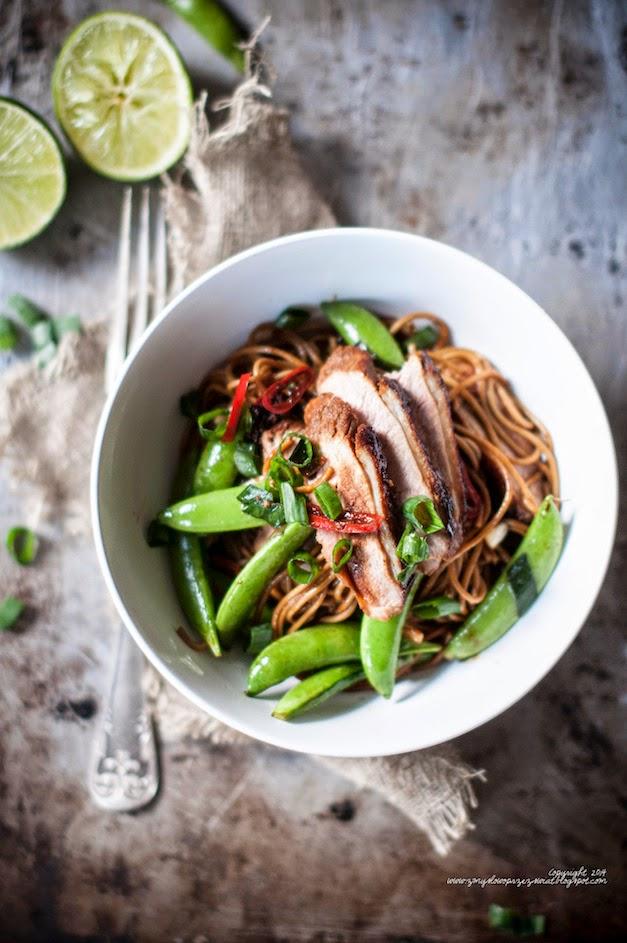 dry soba noodles