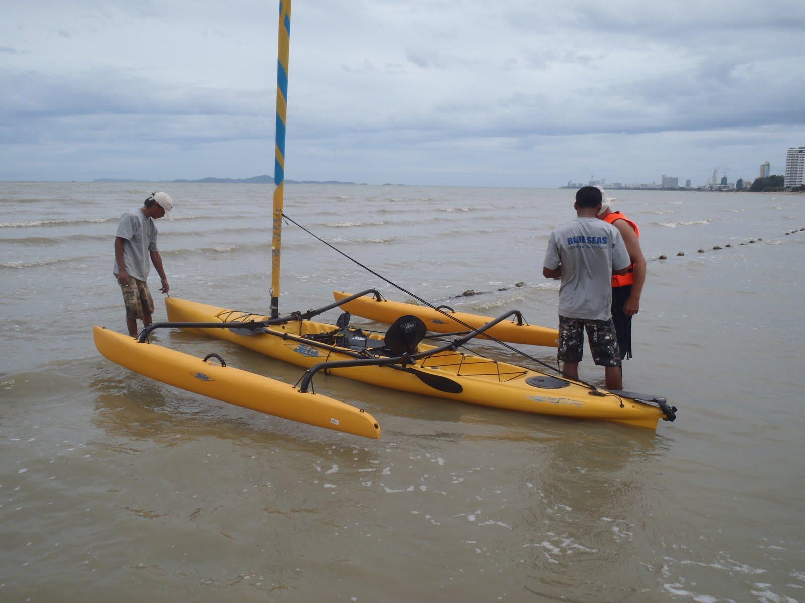 Hobie demo day experience kayak fishing singapore for Hobie fishing kayak
