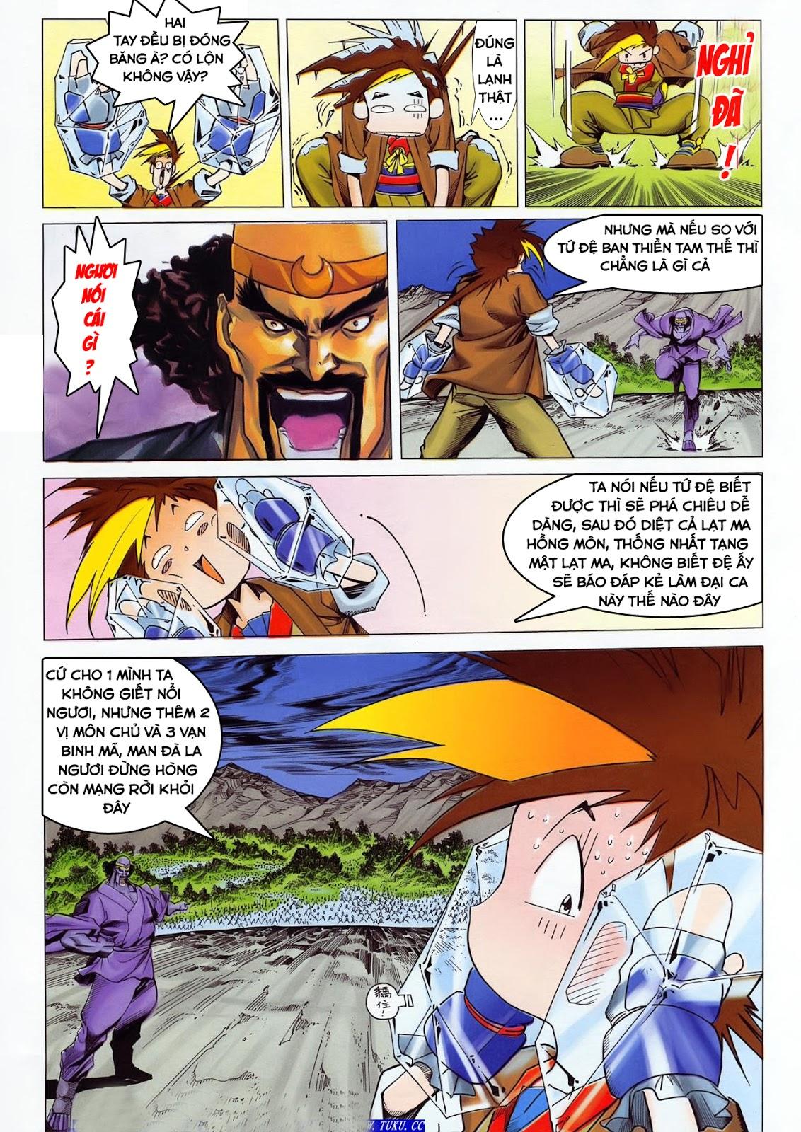 Lục Đạo Thiên Thư chap 36 - Trang 13