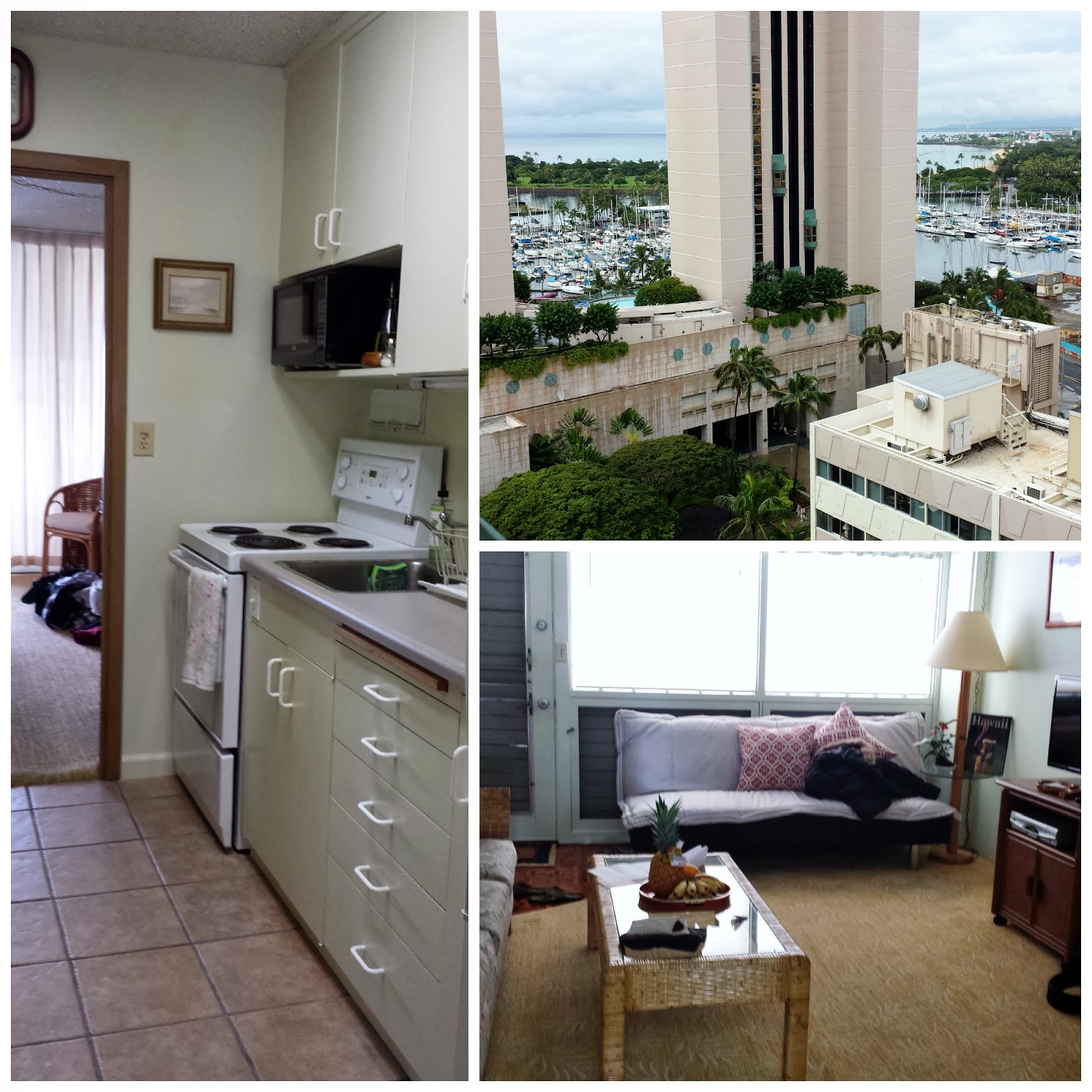 Our Honolulu condo that we rented on airbnb. Photo: Just J