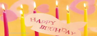 Couverture facebook bon anniversaire