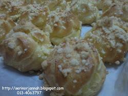 Japanese Crispy Cream Puff