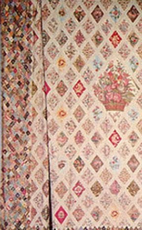 ARE THE QUILT PATTERNS AUTHENTIC REGENCY ERA? NO!