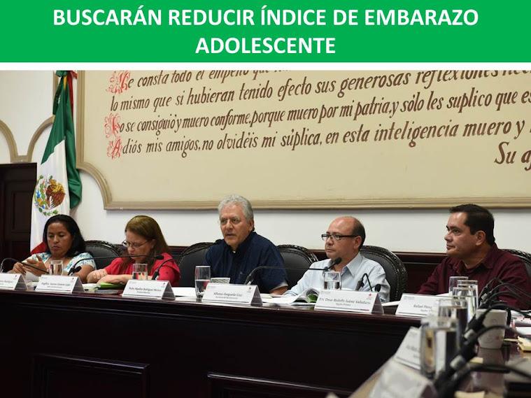 BUSCARÁN REDUCIR ÍNDICE DE EMBARAZO ADOLESCENTE