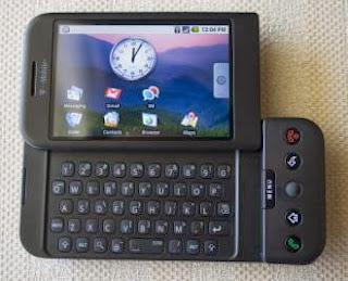 Primeiro celular com Android completa cinco anos