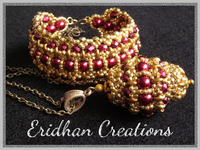beaded bead and beaded bracelet tutorial