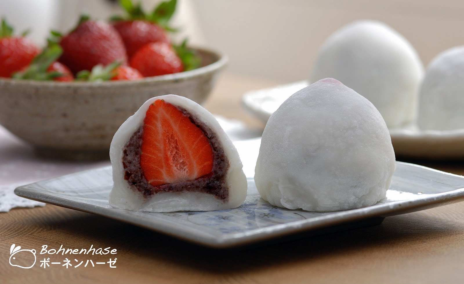 ... ichigo daifuku is a must they are rice cakes mochi with a filling of