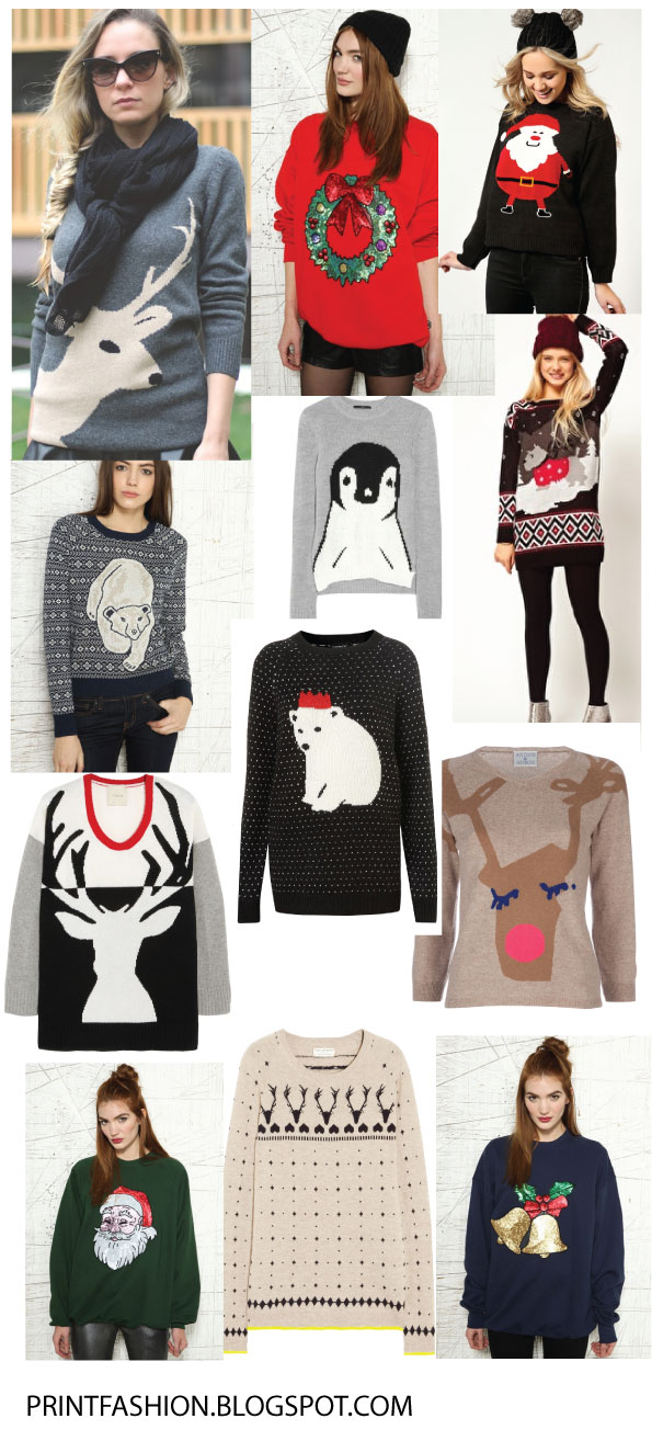 christmas festive jumpers