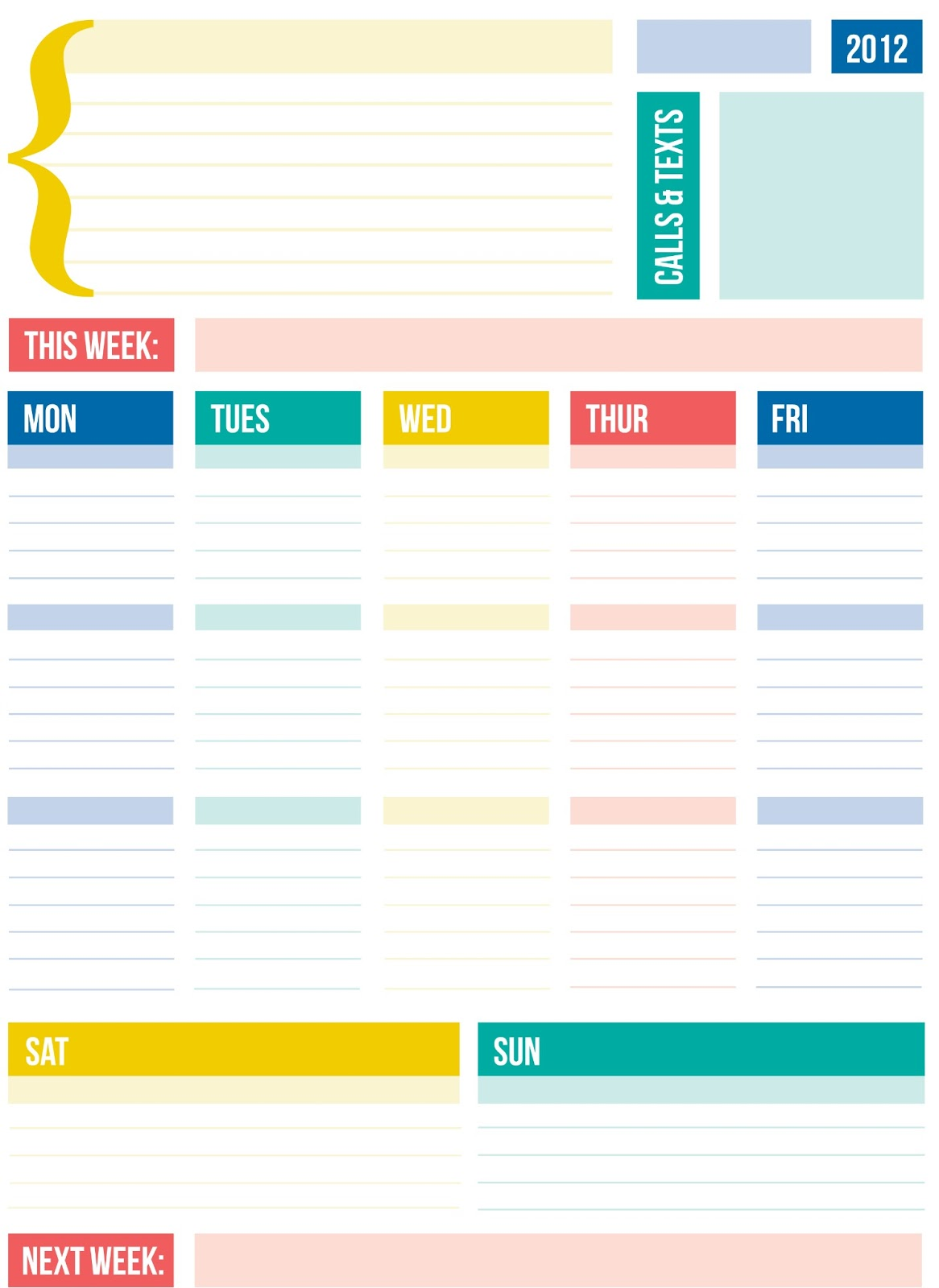 Use weekly i like how the lists are cool binder cover templates