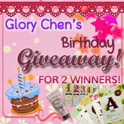 Glory Chen's Birthday Giveaway