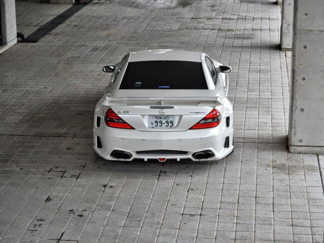 mercedes sl widebody