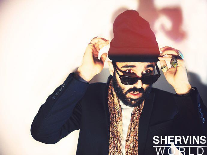 SHERVIN NASSI, MALE MODEL, HIPSTER