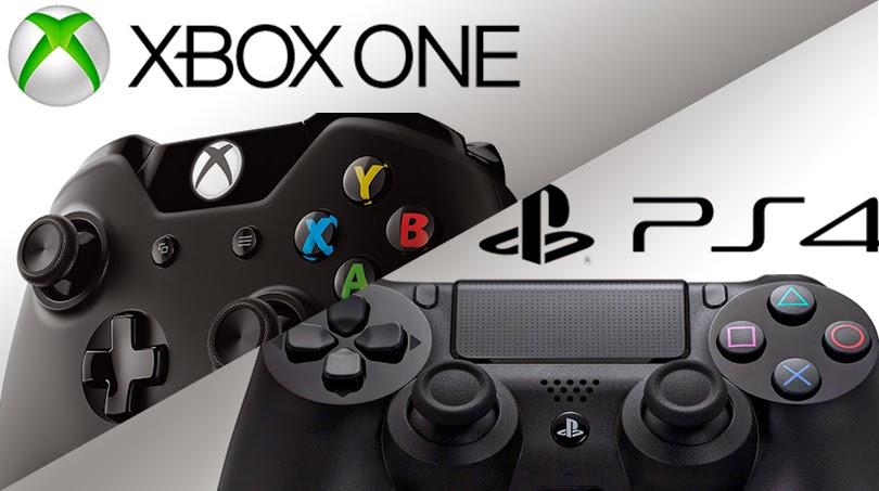 La lucha entre Ps4 y Xbox One por liderar la industria del videojuego