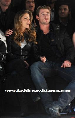 Elsa Pataky con su marido y muchos famosos en los desfiles de la Semana de la Moda de Nueva York