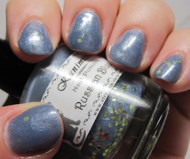 Kunimitsu by Nail Potions Russian Blue