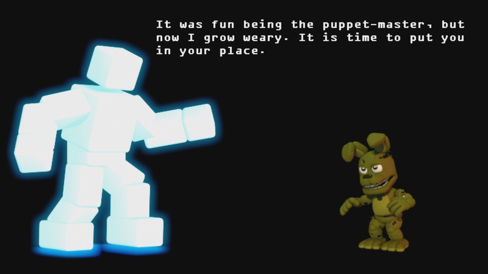 Have the fans pushed scott cawthon too far while the game pokes fun