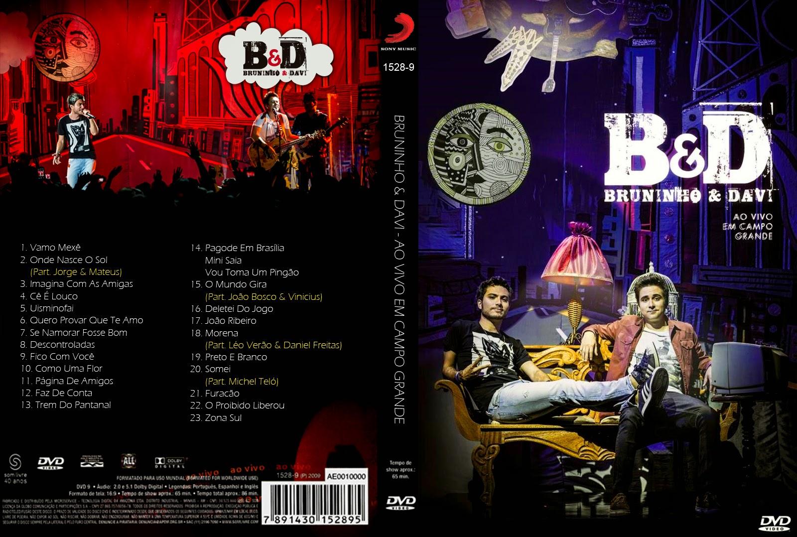 Download Bruninho & Davi Ao Vivo em Campo Grande DVDRip XviD 2014