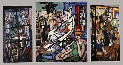 Max Beckmann - Beginning,1949.