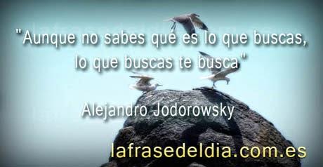 Frases Alejandro Jodorowsky