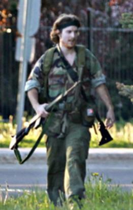 Suspected Moncton NB gunman Justin Bourque