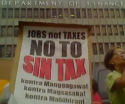 Sin Tax bill Philippines