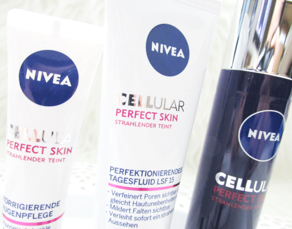 Nivea Cellular Perfect Skin Serie - Strahlender Teint - Review aller vier Produkte