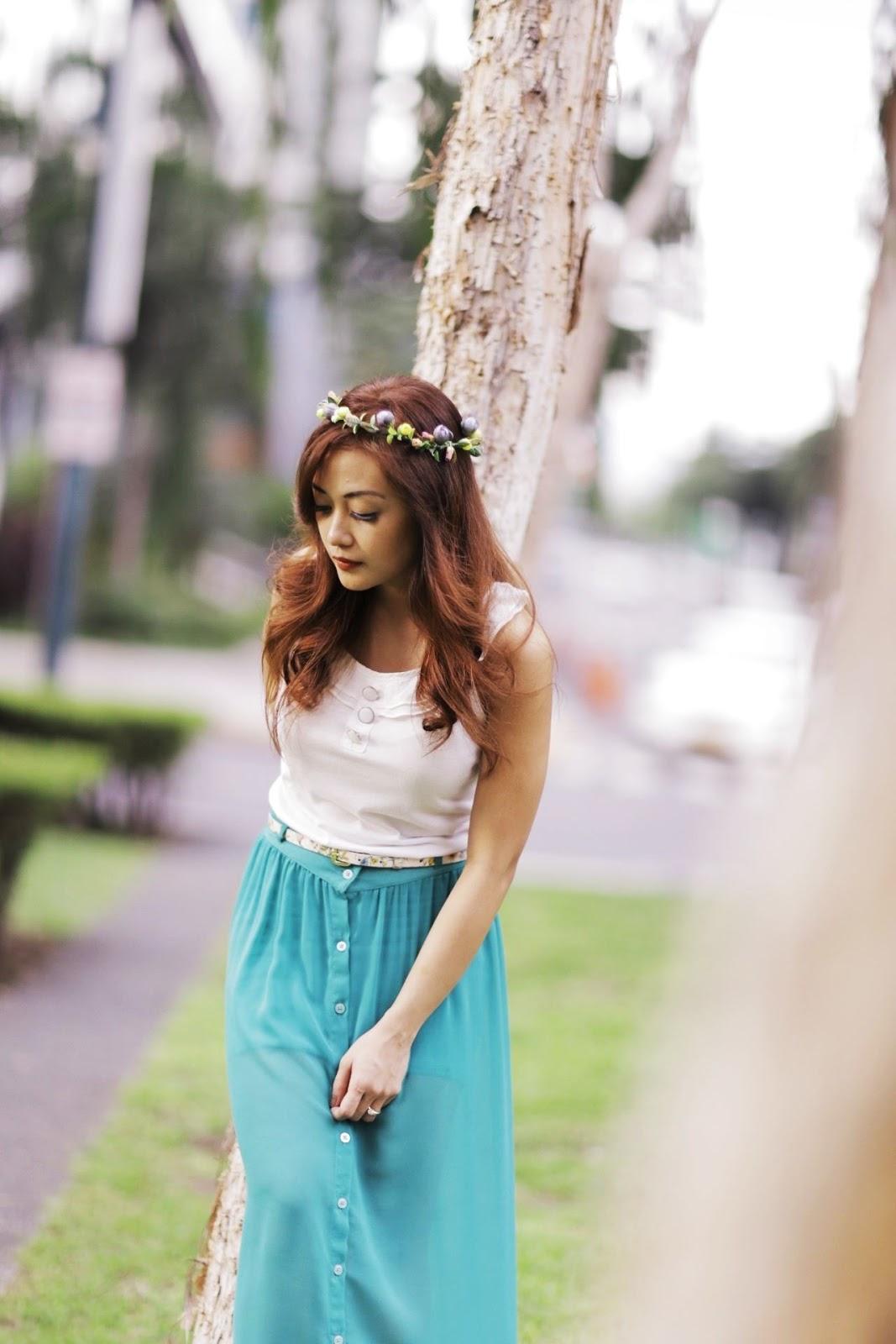 Pixies, head dress, head wreath, the trees burgos circle, BGC, sisters