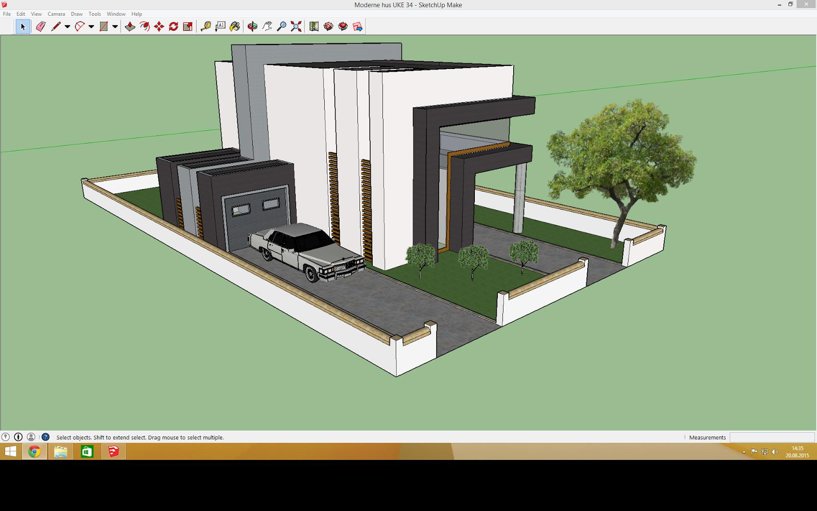 i dag startet jeg med lage enda ett hus nr jeg endelig ble ferdig s klarte jeg ta vekk programmet uten lagre mte gjre hele greia omigjen - Moderne Huser 2015