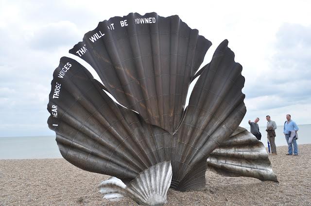 Aldeburgh+scallop+sculpture+Maggi+Hambling