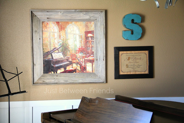 Wall Art for the Music Room {Part 2}