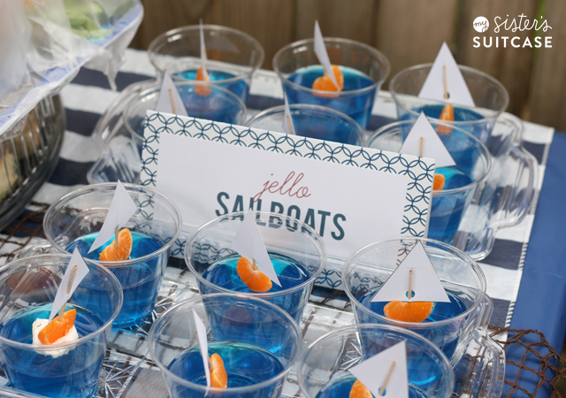 suitcase nautical theme baby shower ideas nautical theme baby shower