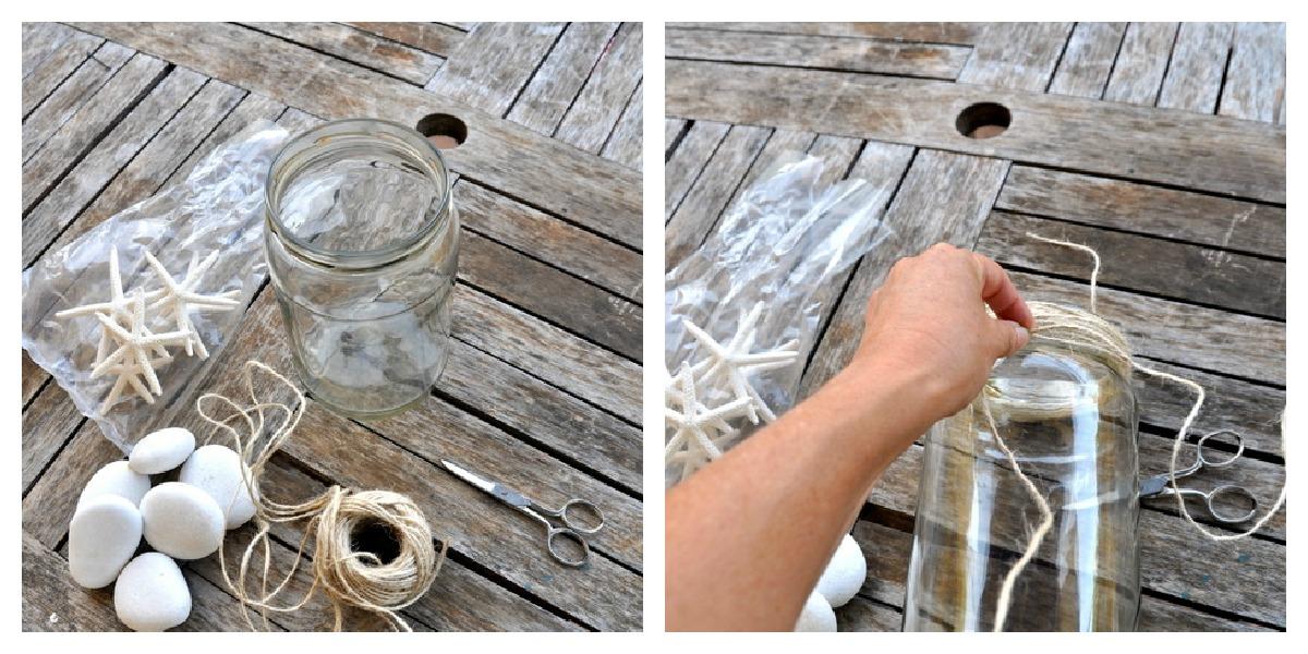 Ideas para la mesas porta velas playeros - Portavelas grandes ...