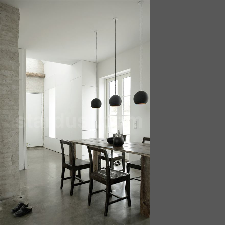 Hanging Lamp Over Dining Table: TOPAN Round Pendant Lamp