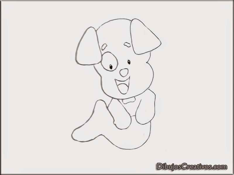 dibujos para colorear CACHORRO BUBBLE