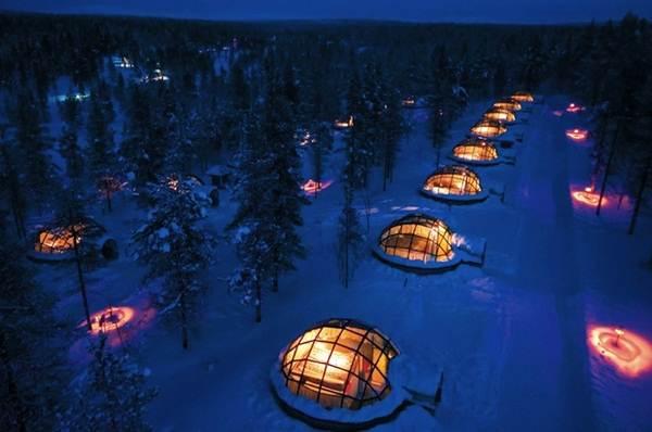 susunan-hotel-igloo-di-finland