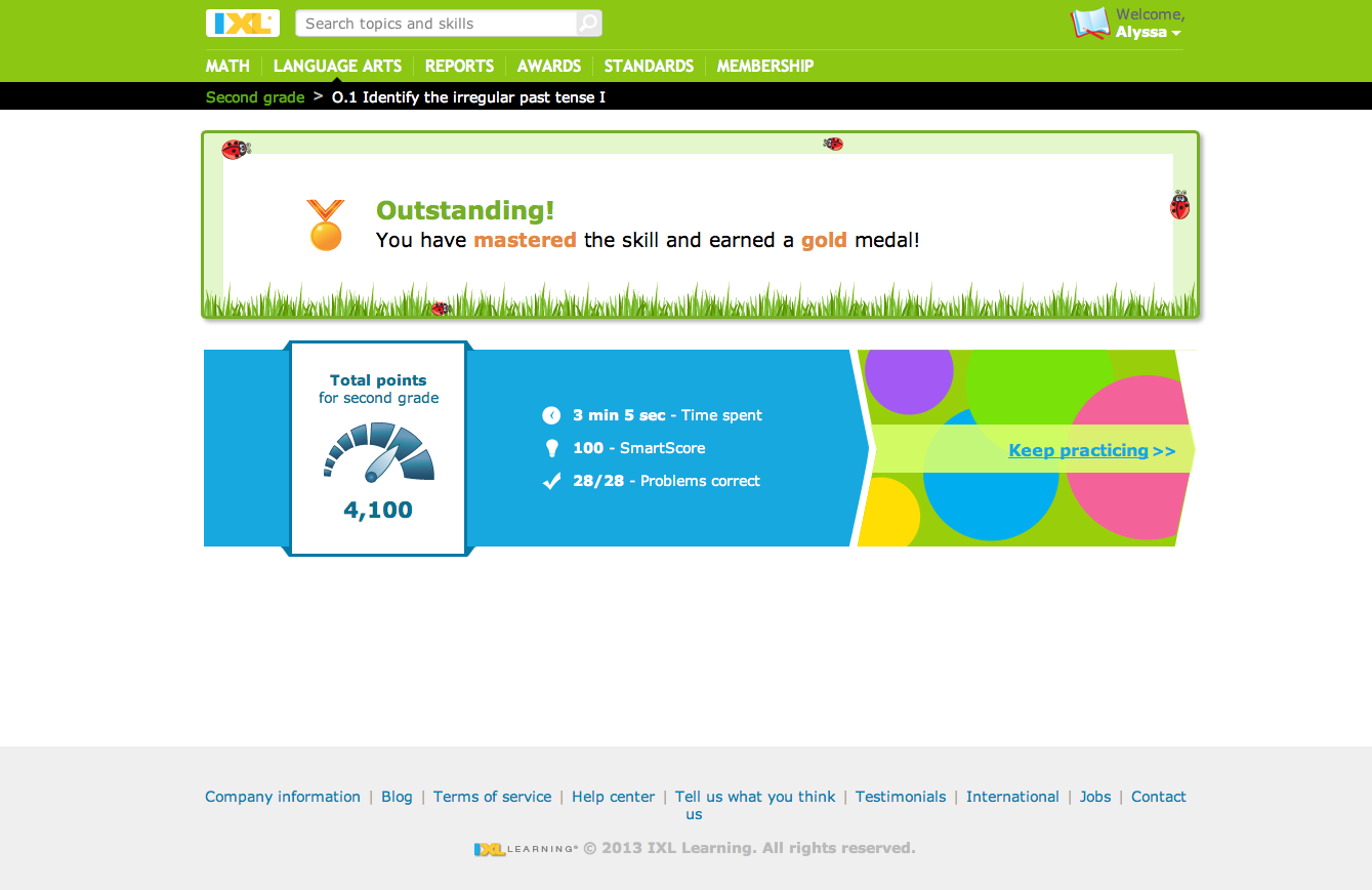 A Learning Journey: Schoolhouse Review: IXL Online Language Arts and ...