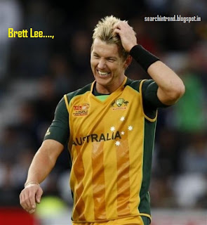 Brett Lee Retires quits International images pics profile Bowling song family Biography
