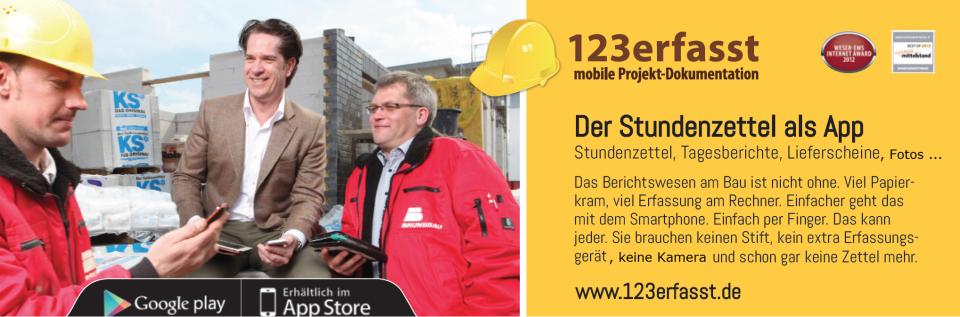 mobiles Bau-Projekte-Management