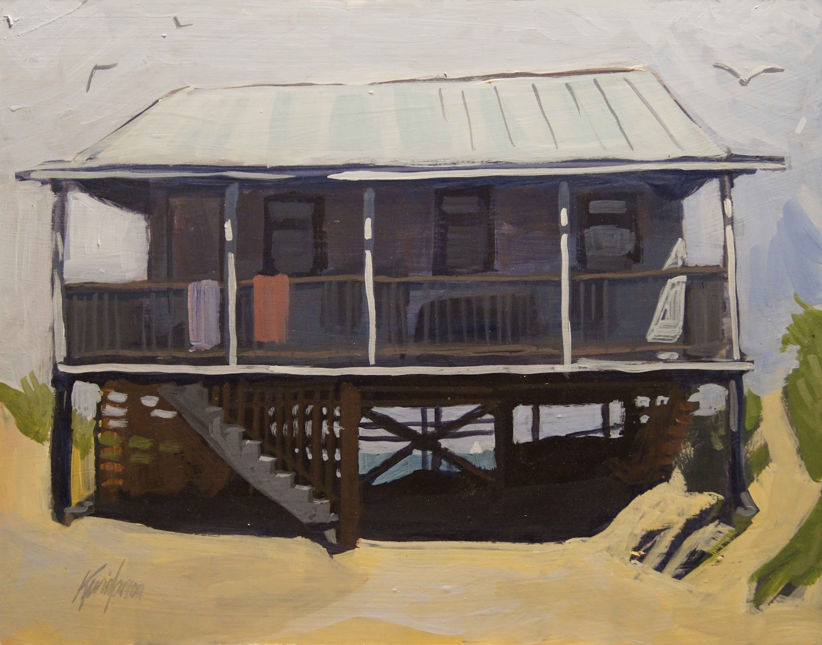 Old style beach houses outer banks nc house design and - House outer design pictures ...
