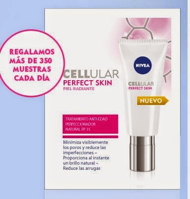 Prueba Gratis Nivea Cellular Perfect