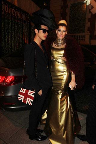 Gala revista gente 2012, Charlotte Caniggia, famosos mal vestidos