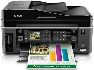 Epson WorkForce 610 Driver Printer Download