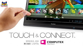 Viewsonic 22-inch Android Tablet is coming soon