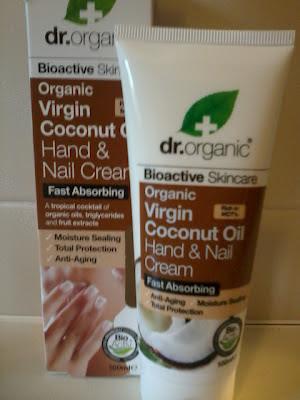 Dr Organic Hand Cream