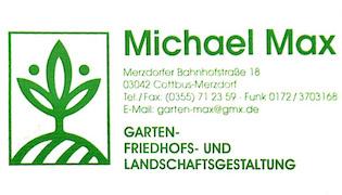 Garten- Friedhofs- und Landschaftsgestaltung Max